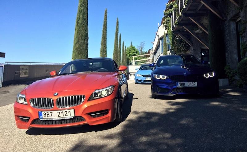 Italská jezera s BMW