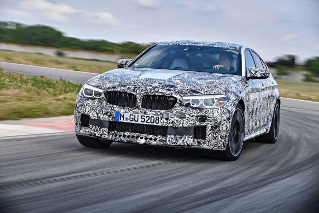 Nové BMW M5 s xDrive