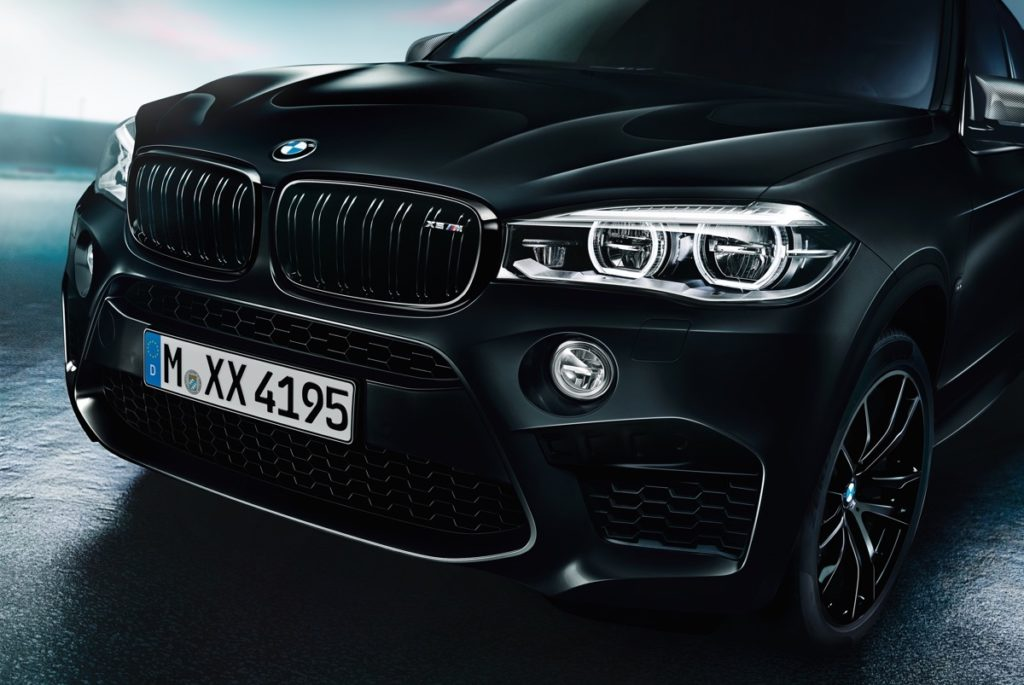 Nová edice Black Fire pro BMW X5 M
