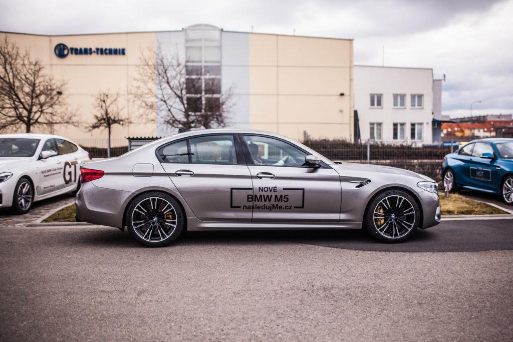 Odhalení nového BMW M5