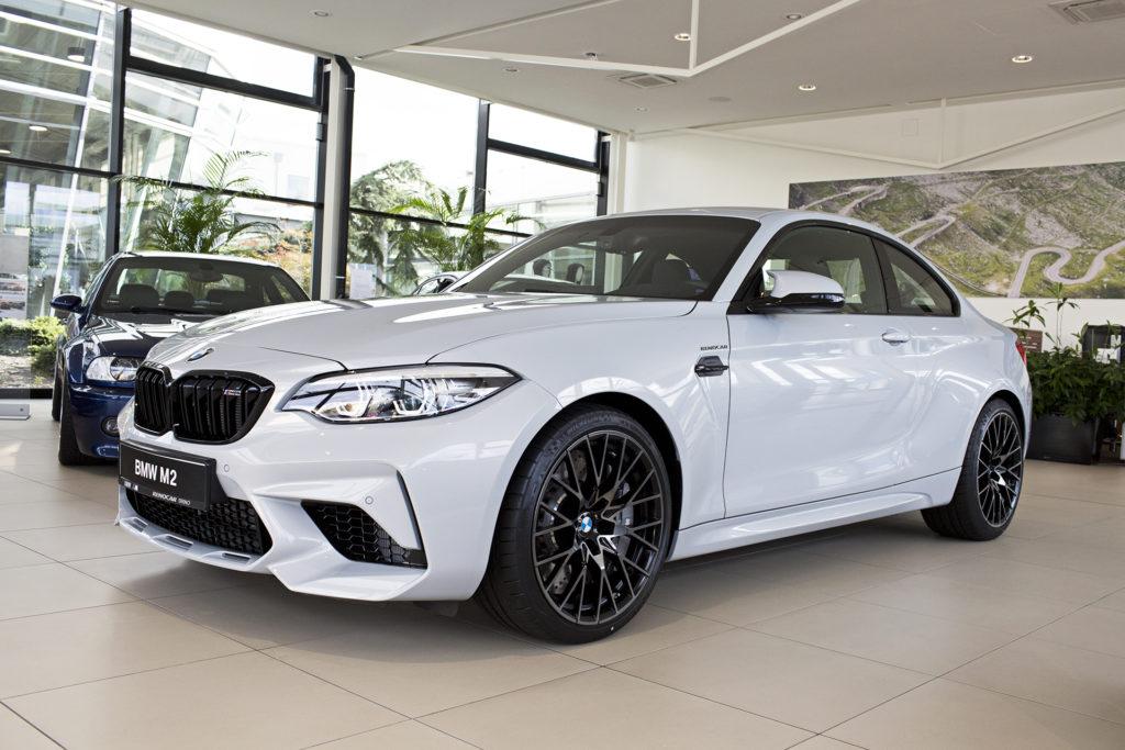 Nové BMW M2 Competition se 410 koňmi