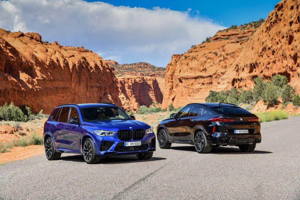 Nové BMW X5 M a BMW X6 M