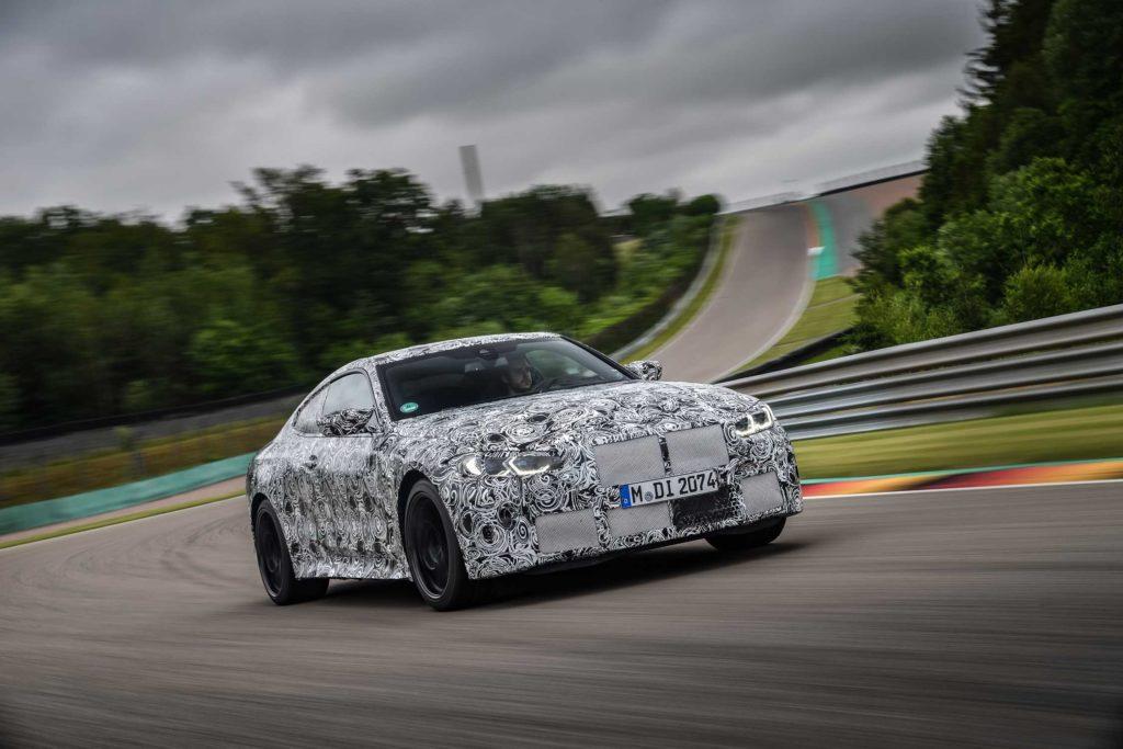Nové BMW M3 Sedan a BMW M4 Coupé na závodním okruhu