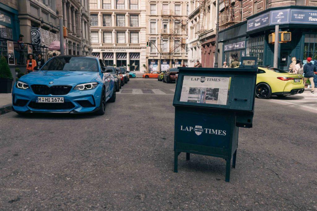 V M Townu je opět živo. Na scéně jsou starší i budoucí modely BMW M.