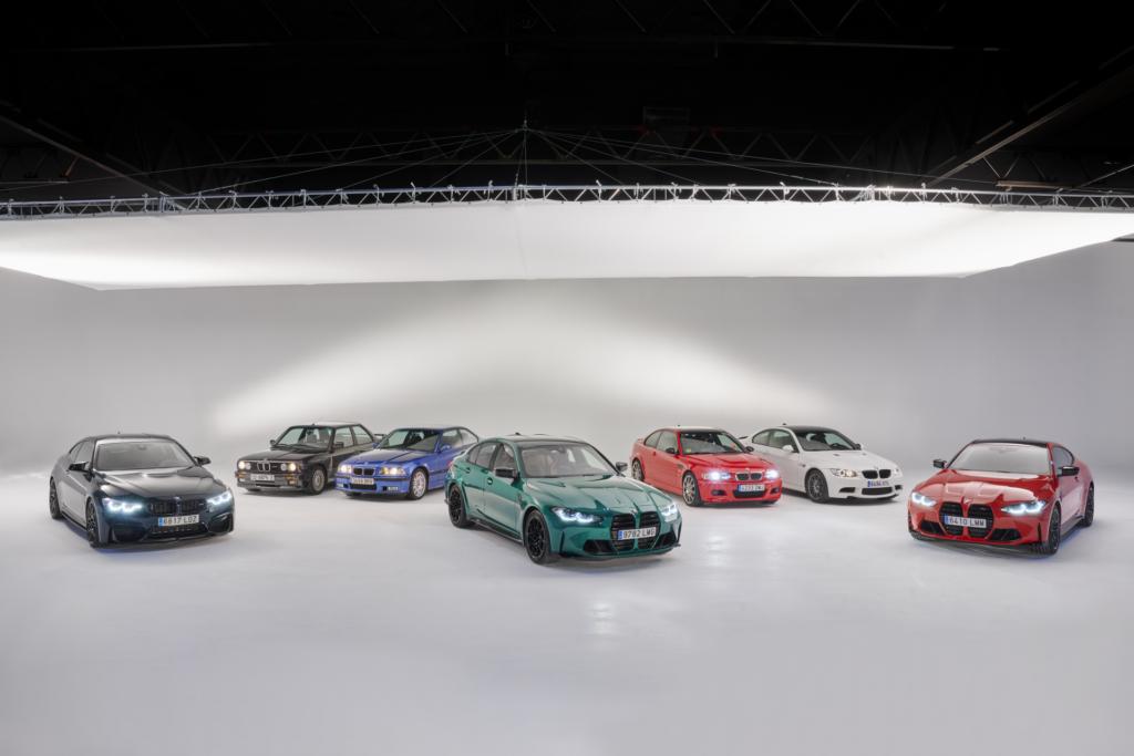 Šest generací BMW M3