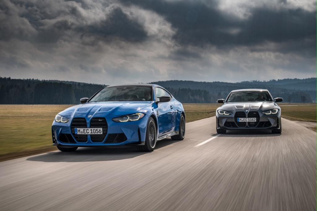 Pohon M xDrive debutuje v modelech BMW M3 a BMW M4.
